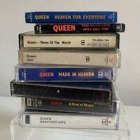 Queen Music Cassette Bundle Job Lot Jazz News Of The World Hits Etc X 8