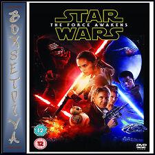 Star Wars The Force Awakens DVD 2015 Region 2