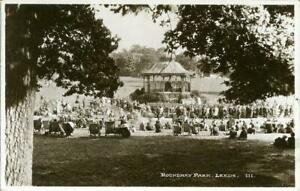 REAL PHOTOGRAPHIC POSTCARD OF ROUNDHAY PARK, LEEDS, WEST YORKSHIRE BY BAMFORTH