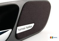 BMW NEW GENUINE E46 3-SERIES 2 DOOR HANDLE SPEAKER COVER PAIR HARMAN KARDON L+R