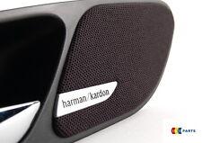 BMW NUOVO ORIGINALE e46 3-SERIE 2 Maniglia Coppia di copertura Altoparlante Harman Kardon L + R