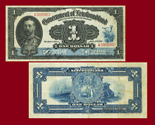 NEWFOUNDLAND 1 DOLLARS 1920. SHIP. UNC - Reproduction