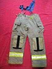Mfg 2010 Morning Pride 40 X 32 Fire Fighter Turnout Pants Bunker Gear Suspenders