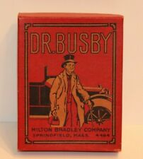 RARE VINTAGE Mr. Busby Game (circa 1905 possibly) Complete with box