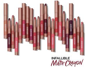 Loreal Infallible Matte  Lip Crayon lip color , YOU  Choose