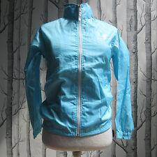 NUOVA Ragazza Donna Balance's di importazione giapponese sottile Rain Jacket light sky blue 150cm