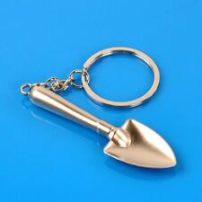 Creative Lovely Metal Shovel Stlye Pendant Tool Key Chain Ring Keyring Silver