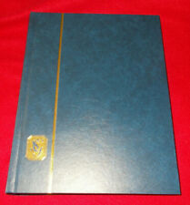 STANLEY GIBBONS STOCK BOOK / STAMP ALBUM WHITE LEAVES 64 PAGES