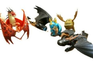 How to Train Your Dragon Lot of 5 Toothless  Meatlug Hookfang Stormfly