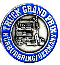 AUTO Pin / Pins - MERCEDES BENZ - TRUCK GRAND PRIX NÜRBURGRING / silber [1124]