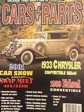 Cars & Parts Magazine 1933 Chrysler & 2001 Car Show April 2001 031918nonrh