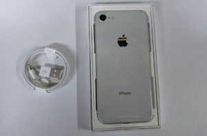 Brand New Apple iPhone 8 64GB Unlocked Silver 12 Months Apple Warranty
