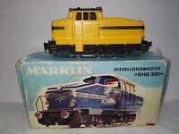 Märklin H0 Unikat 3080 Diesellok DHG 500 analog in OVP von 1967, bitte lesen!