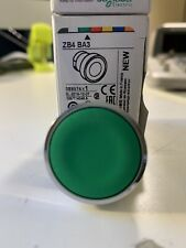 ZB4BA3  GREEN PUSH BUTTON    US STOCK  AUTHENTIC