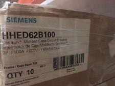 NEW SIEMENS HHED62B100 2P 100A HHED SIEMENS CIRCUIT BREAKER