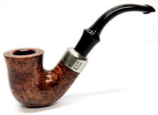 Peterson System Briar Pipe Smooth Finish Large Bent with a Free Pipe Tool (305)