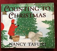 Nice Hardcover Counting Book - Ages 2-7 - Counting to Christmas - Ships Free