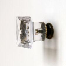 10pcs Acrylic Cabinet Knobs Cupboard Dresser Drawer Handle Pulls furniture knob