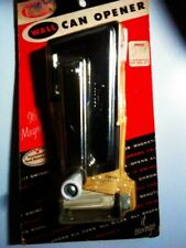 Vintage New Rival Can Opener - White - Wall-mounted includes mounting bracket