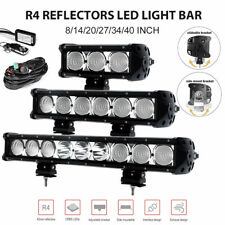 8/14/20/27/34/40 inch Cree LED Light Bar Spot Flood Combo Work Lamp ATV Offroad