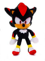 "OFFICIAL SONIC THE HEDGEHOG SHADOW 12"" LARGE PLUSH SOFT TOY TEDDY NEW WITH TAGS"