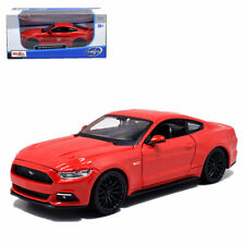 Maisto 1:24 2015 Ford Mustang GT Diecast Model Roadster Car Red