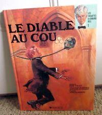 LE DIABLE AU COU graphic novel Edmund Bell book Rene Follet 1987 France