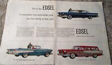 1958 Edsel car ad