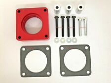 Red Throttle Body Spacer Fits 1991-1995 Grand Cherokee JEEP Wrangler 2.5L 4.0L