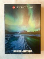 Heye Power of Nature Northern Lights 1000 Piece Jigsaw Puzzle COMPLETE