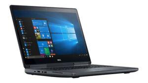 """Dell Precision 17"""" 7720 Xeon E3-1505M 3.0GHz 4Cores 64gb 1TB SSD Quadro P4000"""