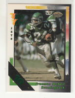 FREEMAN McNEIL 1992 Wild Card NFL #176 Parallel 10 Stripe New York Jets NM