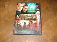 THE BROTHERS GRIMM DVD Widescreen starring Matt Damon & Heath Ledger