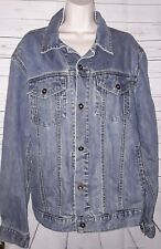 Old Navy Mens Jeans Jacket Size L Med Wash