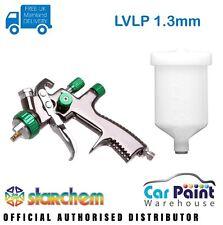 Starchem LVLP 1.3mm Spraygun Gravity Feed Professional Spray Gun Lacquer & Base