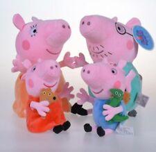 Peluche Peppa Pig Set da 4 pz 19-30 cm
