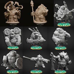 Tortle Variant Listing by Epics 'N' Stuffs, D&D, Pathfinder