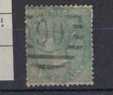 GB QV 1855 1/- Green SG71 Fine Used JK209
