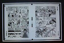Original Production Art X-MEN #15, pages 4 & 5, JACK KIRBY art