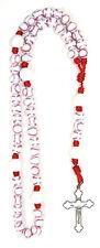 Original Baseball Rosary Sport Bead Nylon Cord Catholic Athlete Durable Made USA