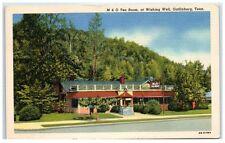 Mid-1900s M&O Tea Room, at Wishing Well, Gatlinburg, TN Postcard