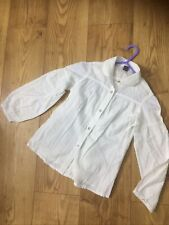 Zara Girls Cotton Blouse Shirt Size 7-8 Years