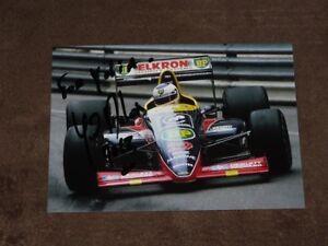 Yannick DALMAS - original autogramm, Larrousse/Lola, Karte/card 10x15 cm