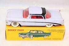 "Dinky Toys 550 Chrysler ""Saratoga"" 2 tone lilac very near mint in box SUPERB"