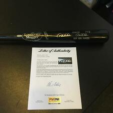 Derek Jeter Signed Autographed Game Model Baseball Bat Steiner + PSA DNA COA