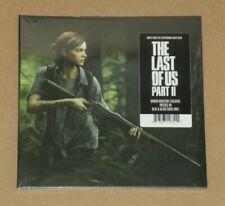 "The Last of Us Part 2 II 7"" Vinyl Mondo Exclusive New Rare Blue Black Swirl Inch"