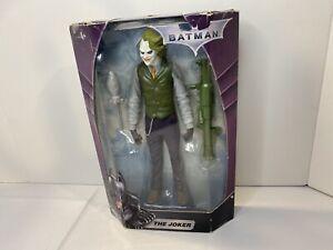 "Batman The Joker 10"" Action Figure 2008 Mattel DC Hero Zone Heath Dark Knight"