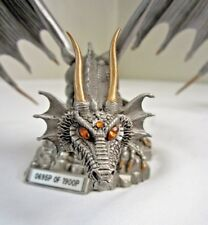 RARE The Golden Dragon of Chaos Elmore Pewter Limited SCULPTURE Ral Partha 1997