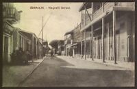 "Egypt. Ismaïlia ""The City of Beauty and Enchantment"" Negrelli Street - Postcard"