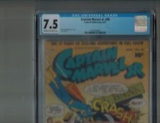 Captain Marvel Jr. 98 from 1951 SHAZAM CGC Graded 7.5 Cream to OW Pages Rare HTF